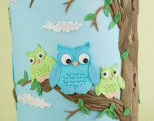 'Owl Wedding Cake' (Guests)