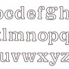 Large Alphabet (Lower Case)