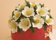 Large Christmas Rose